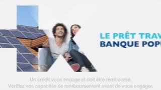 Gamme Prêts Travaux Banque Populaire